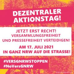 NRW-weiter Aktionstag 17.07.2021 (für mehr Infos >> Klick aufs Bild <<)